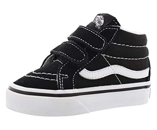 14fef3e4db Vans Toddler Sk8-Mid Reissue V Black True White Skate Shoe 4 Infants ...