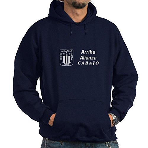 fan products of CafePress - Alianza Lima Hoodie (dark) - Pullover Hoodie, Classic & Comfortable Hooded Sweatshirt