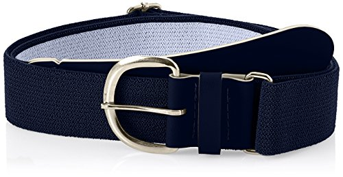 Champro Elastic Baseball Belt with 1.5-Inch Synthetic Tab (Navy, 28-52-Inch)
