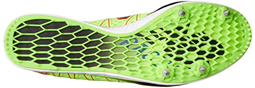 New Balance Mens MLD5000 Long Distance Spike Running Shoe Green/Red u6mcweT8Bg