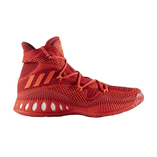 Scarpa Da Basket Adidas Performance Mens Pazzesca Esplosiva Primeknit Rossa