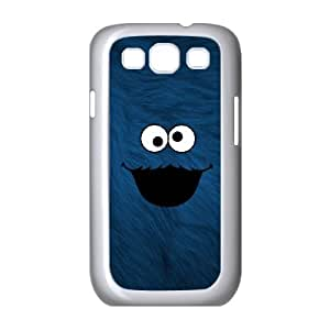 Samsung Galaxy S3 9300 Cell Phone Case White Cookie Monster 004 VC96N901