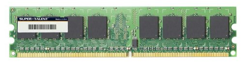 Super Talent DDR2-800 2GB/128x8 Samsung Chip Memory (800 Mhz Ecc Module)
