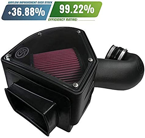 3500 5.9L Diesel S/&B Filters 76-1007-1 Intake Elbow for 1998-2002 Compatible With Dodge Ram 2500