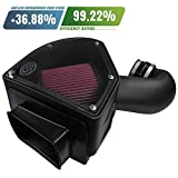 Seat Air Intake Parts - S&B Filters 75-5090 Cold Air Intake For 1994-2002 Dodge Ram Cummins 5.9L (Oiled Cleanable, 8-ply Cotton Filter)