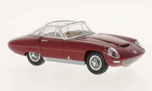 Alfa Romeo 3500 Supersport Pininfarina, red, RHD, 1960, Model Car, Ready-made, BoS-Models 1:43
