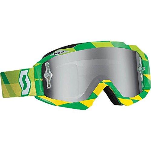 スコット SCOTT Hustle Goggle Track Green W/Silver Chrome Lens 51-1523 238057-4606269 B07DL4H8NW