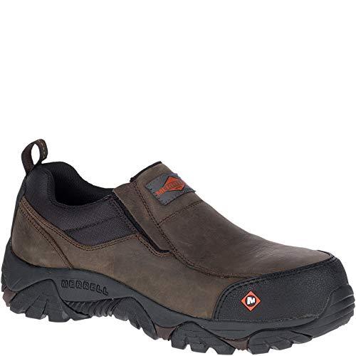 Merrell Moab Rover Moc Comp Toe Work Shoe Men 8.5 Espresso ()