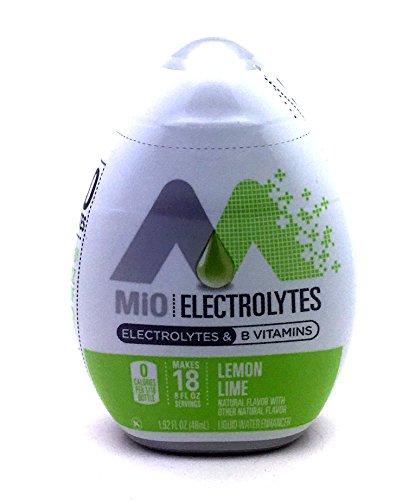 Mio Fit Liquid Water Enhancer Lemon Lime 1.62 OZ (Pack of 12) (Mio Gatorade)