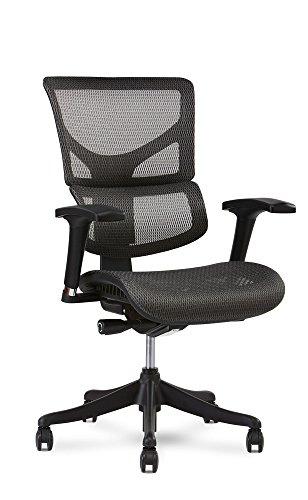 X Chair X1 Task Chair, Grey Flex Mesh Review
