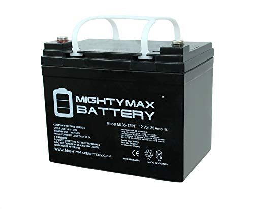 Mighty Max Battery 12V 35AH SLA Internal Thread Replacement for Power Patrol SLA1156 Brand -