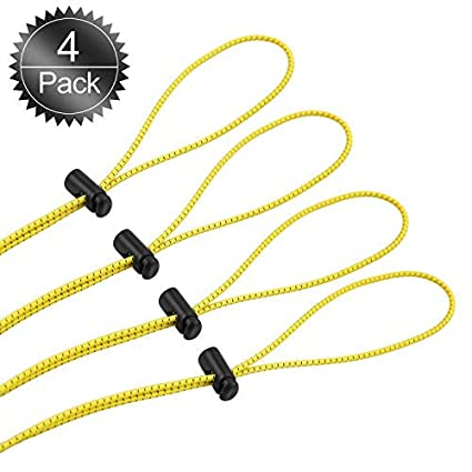 9e4d0c24d73 Amazon.com  Bungee Goggle Strap Kit(4-Pack)