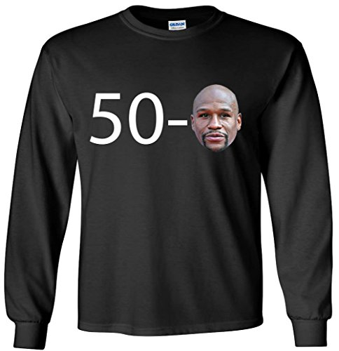 The Silo BLACK Mcgregor Mayweather 49-1 LADIES V-NECK