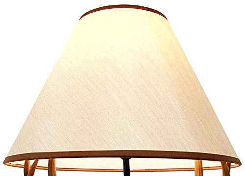 Brown Printed Lamp Shade For Side Ebros Plain Table Lamps dBCxore