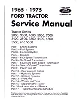 Ford shop manual series 5000 5600 5610 6600 6610 6700 6710 1965 1975 ford tractor 2000 7000 service manual book fandeluxe Images