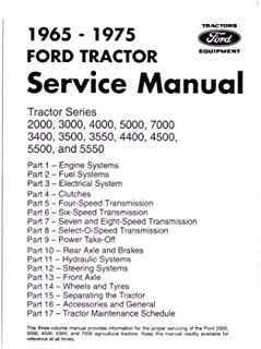 41tgCq5mI6L._AC_UL320_SR264320_ 1965 1975 ford tractor repair shop manual 2000, 3000, 4000, 5000 Ford 4600 Wiring Schematic at fashall.co