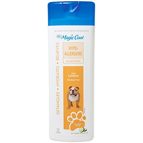 Four Paws Magic Coat Hypo Allergenic Dog Grooming Conditioner, - Magic Coat Shampoo Paws Dog Four