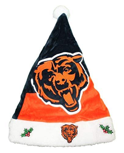 - FOCO NFL Chicago Bears 2018 Basic Santa Hat, Team Color, One Size