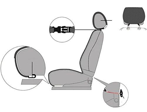 YAOHAOHAO The cooling of heating adjustable massage 12V car seat cushion by YAOHAOHAO (Image #6)