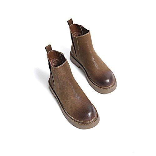 pieds nus Bottes Bottes femmes courtes courtes d Bottes pour chaudes wxpY6qa