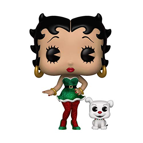 - Funko POP! Animation: Betty Boop - Elf Betty Boop & Pudgy #505 - Funko's [2018] 12 Days Of Christmas Exclusive!