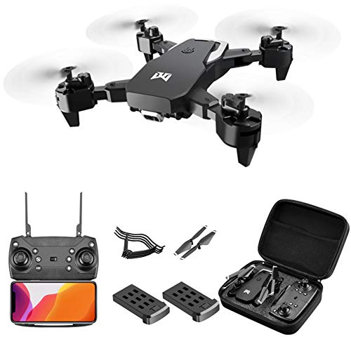 Yxs 4K Ultra HD Drone with Dual Camera, 2Battery RC Quadcopter for Adults, 50x zoom, Auto Return Home,Gravity Sensing…