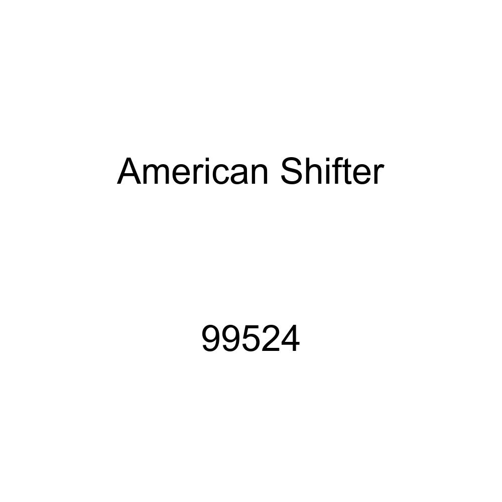 American Shifter 99524 Red Shift Knob with M16 x 1.5 Insert White Wheel of Dharma