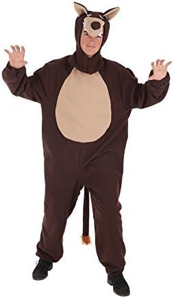 LLOPIS - Disfraz Adulto Lobo: Amazon.es: Juguetes y juegos