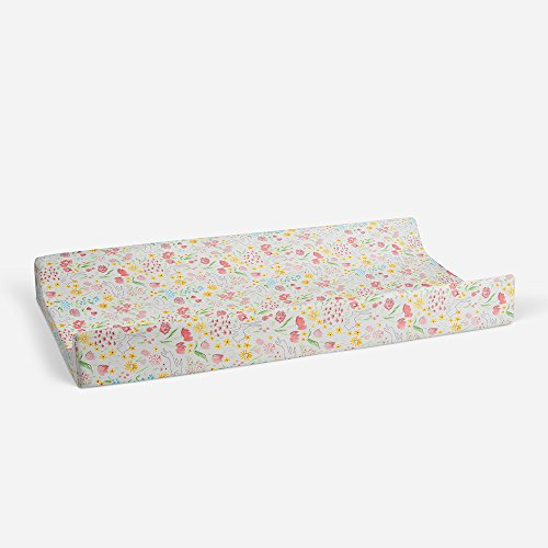 Glenna Jean Changing Pad Cover, Multi Print - Mobile Infant Changer