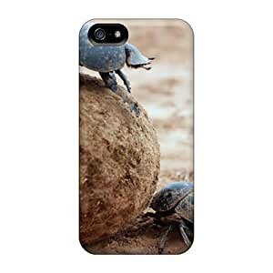 CADike Fashion Protective Animals Dung Beetle Case Cover For Iphone 5/5s