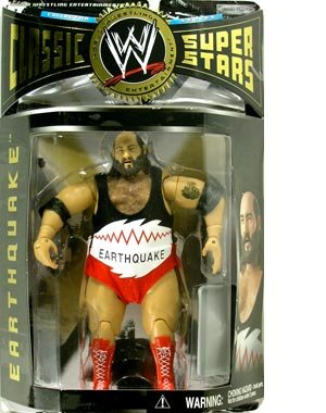 WWE Classic Series 6 Earthquake Collector Wrestling Figure