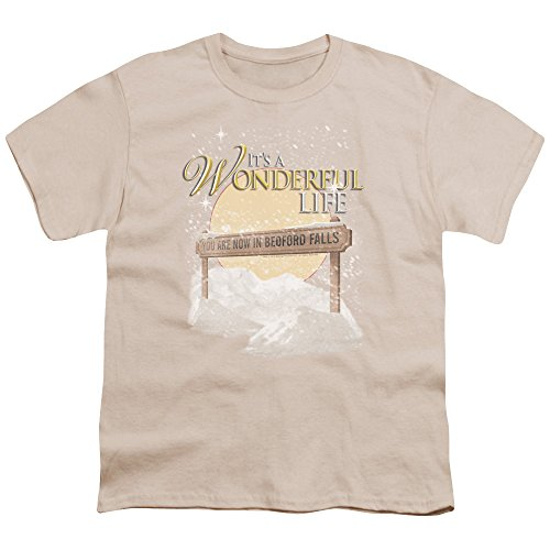 It's A Wonderful Life 1946 Christmas Fantasy Film Bedford Falls Big Boys T-Shirt