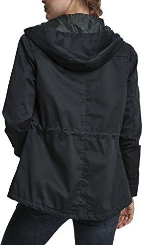 Navy Basic Parka Urban Cotton 155 para Mujer Ladies Blau Classics EqT8wnF4v