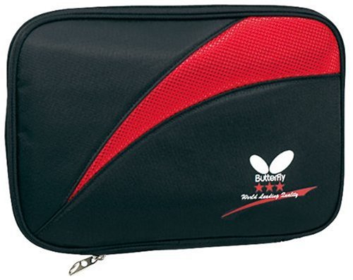 UPC 043907091641, Butterfly Grefil Tour Table Tennis Racket Case (Red)