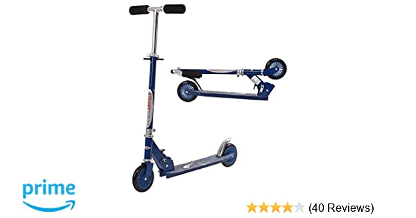 ChromeWheels Scooter for Kids, Deluxe Kick Scooters 4 Adjustable Height 2 Wheels Foldable, Best Gifts for Boys Girls, Age 3-8 Years Old, 110lb Weight ...