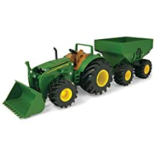 ERTL Ertl Monster Treads Tractor with Wagon