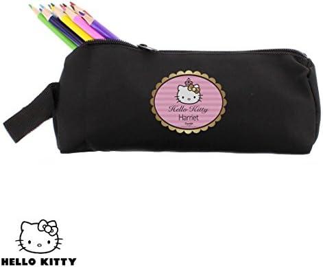 Hello Kitty Chic estuche regalo personalizado: Amazon.es: Oficina y papelería