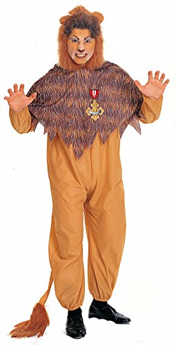 [R15476 (M 42 Chest) Adult Cowardly Lion Costume] (Cowardly Lion Costumes For Adults)