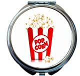 Rikki Knight Popcorn in Box Design Round Compact Mirror