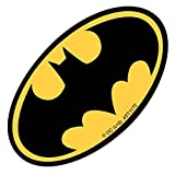 SmileMakers Shaped Batman Logo Stickers - Prizes and Giveaways - 100 per Pack