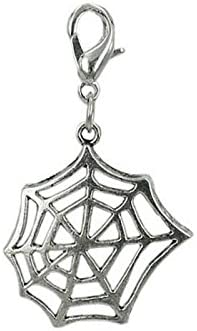 Charm Spinnennetz aus Stahl by Charming Charms