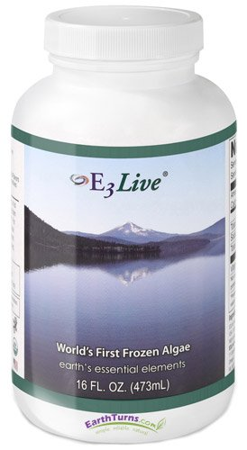 E3Live AFA Frozen Blue-Green Algae 6-Pack, 16 oz. Bottles by Vision