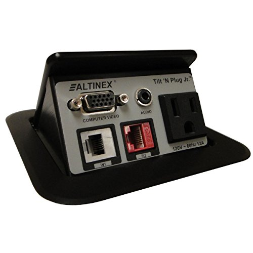 Altinex Tilt N Plug Hybrid TNP528 Power Data Center - HDMI, VGA, USB, RJ45, 3.5mm Audio by 'Altinex, Inc.'