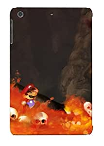 OEYjQzj3898pTxjO Hot Fashion Design Case Cover For Ipad Mini/mini 2 Protective Case (super Mario In Lava)
