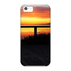 Anti-scratch Case Cover BlackSabbath Protective Terrace Sunset Nature Case For Iphone 5c