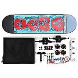 Small Wheel Skateboard Assembly Skateboard Non-Slip Skateboard High Load-Bearing Skateboard Elastic Skateboard Skill Skateboard PU Wheel Skateboard (Color : Face)