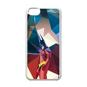 Batman-Batmobile iPhone 5c Cell Phone Case-White Lfkj