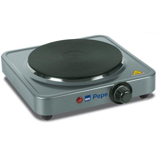 DPE Pepe Da tavolo Sealed plate hob Argento