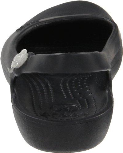 Black Crocs Crocs Slingback Womens Womens Womens Slingback Jayna Jayna Flat Flat Slingback Jayna Black Crocs U08gnq