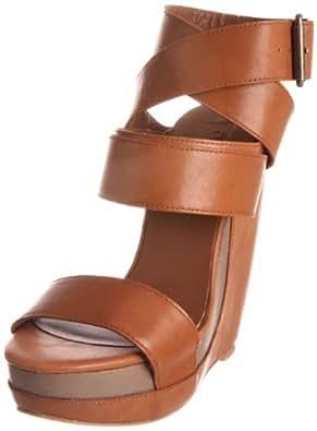 Joe's Jeans Women's Lovely Wedge Sandal,Cognac,7 M US